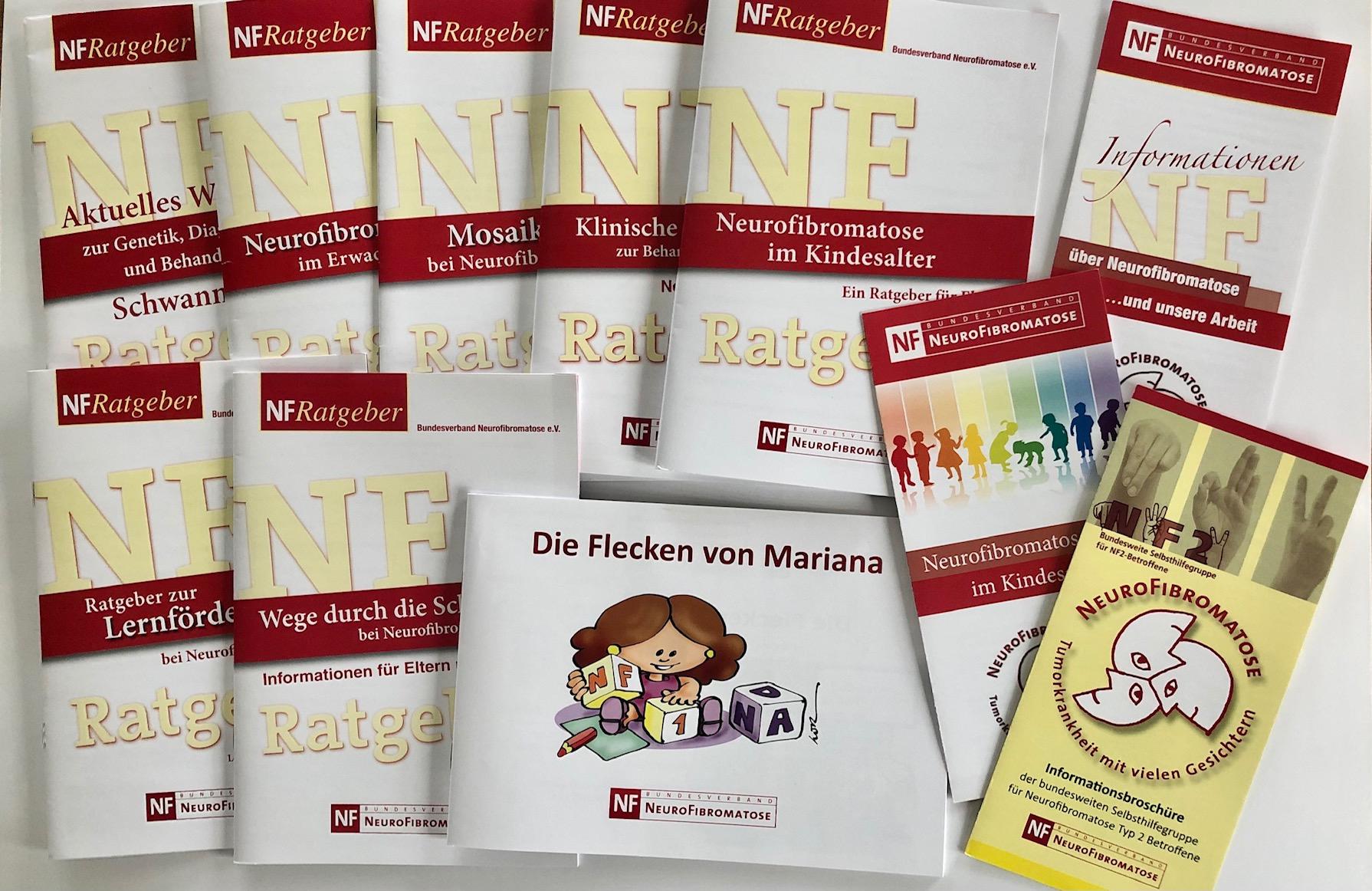 Broschueren Flyer Neurofibromatose Bundesverband Download Information Schwannomatose Kinder