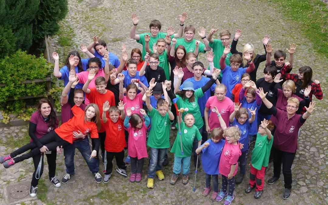 NF Jugendcamp Neurofibromatose Spaß Jugend Kinder Bundesverband