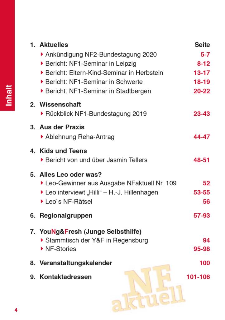 NF-aktuell-Nr-110-Sept-2019 Bundesverband Neurofibromatose Mitgliederzeitschrift
