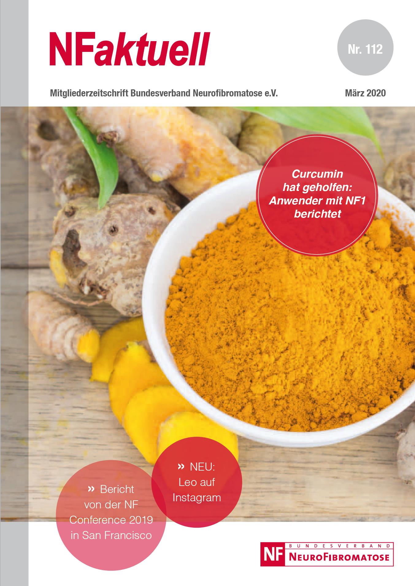NFaktuell 112 Mitgliederzeitschrift Bundesverband Neurofibromatose NF1 NF2 NF3