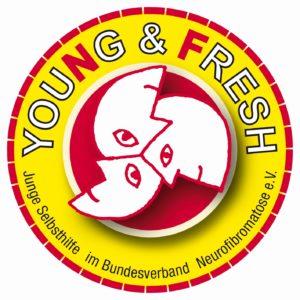young & fresh logo rund nf gelb